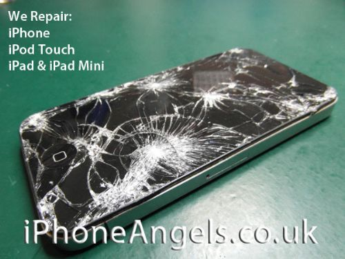 iPhoneAngels.co.uk - Smashed & Cracked iPhone 4 Screen Repair & Replacement