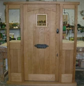 Oak Door Set