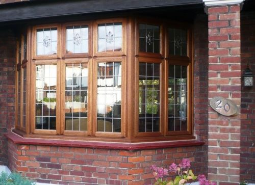 Hardwood bay Window