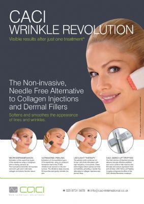 caci wrinkle revoloution facials