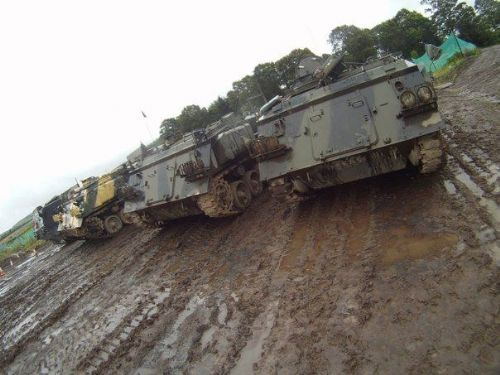 A selection of Tank you can Drive at Tank Driving Scotland