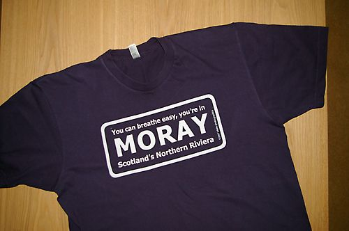 Moray (Riviera) Tee Shirt Design