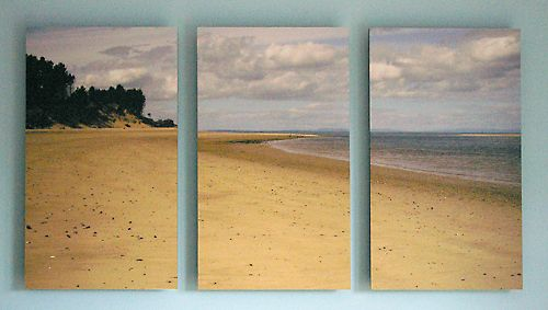 Triptych of Findhorn Bay