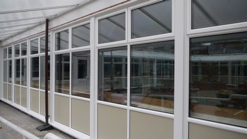 New Windows at Holland House School
