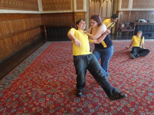 Self-Defence Demostration at the International Womens Festival in Manchester