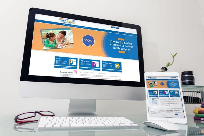 Education Website for a USA company