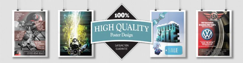 Poster design and print services
