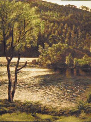 A landscape painted from a client's photograph.