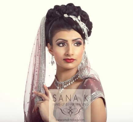 Asian bridal hair and makeup