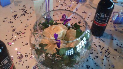 Fish Bowl Table Decoration
