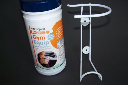 200 Gym Equipment Saniwipes & Wall mounting bracket