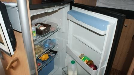 Large fridge with seperate freezer