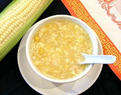 Our Famous Chicken Sweetcorn Soup