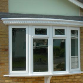 Bow Conversion with UPVC Canopy Roof