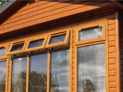Light Oak Windows
