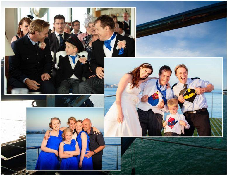 Spitbank Fort, Gosport, Wedding June, 2014