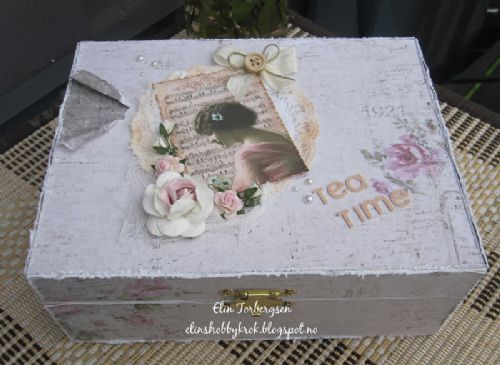Tea Bag Box by DT Member Elin