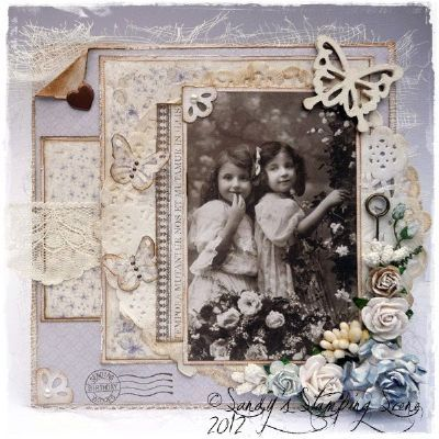 Vintage Card by DT Member Sandy