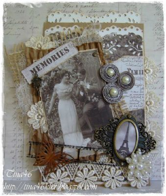 Vintage Card by DT Member Tina