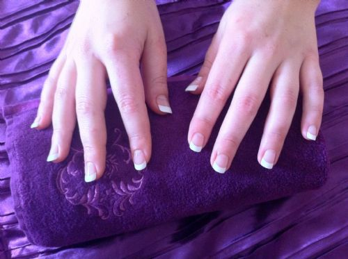 Dashing Diva French Manicure by Hazel