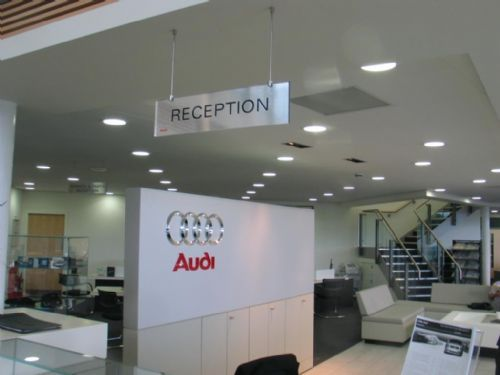 Internal Signage for Audi
