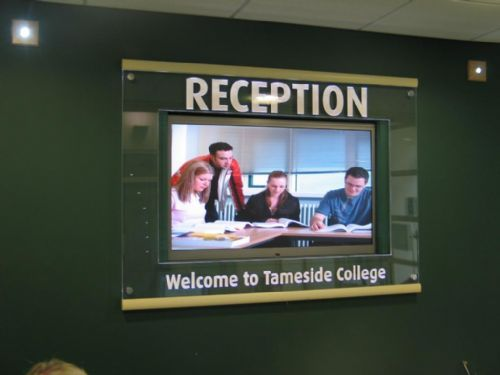AV system at Tameside College