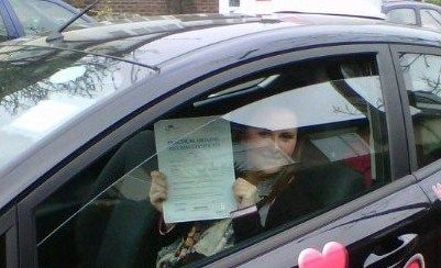 WELL DONE Becky 1st time pass!!!