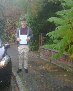 WELL DONE Jack 1st time pass!!