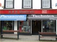 HBH Woolacotts electrical retail store in Wadebridge