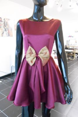 The Bow Dress... available in any colour, any fabric, any embellishment