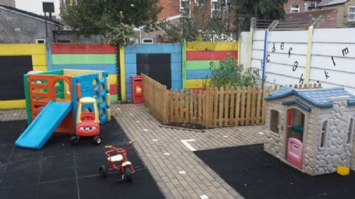 Children Back Garden Play Area