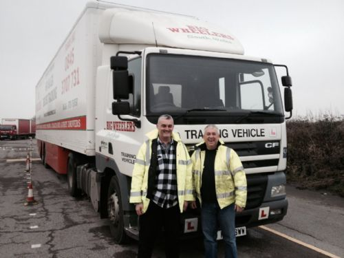 HGV Class 1 training in South Wales