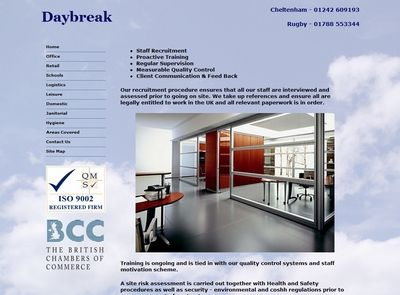 Daybreak Cleaning (CMS)