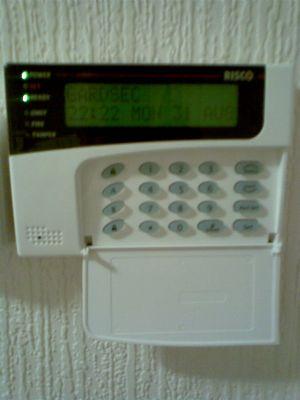 Intruder Alarm Prox Keypad