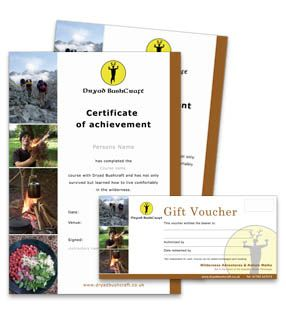 Graphic core swansea certificates gift vouchers design and print