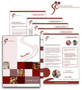 Graphic Core marketing packs, presentation folders design and print