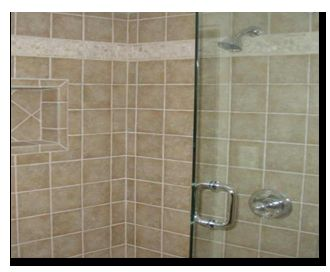 Shower cubicle and plumbing included