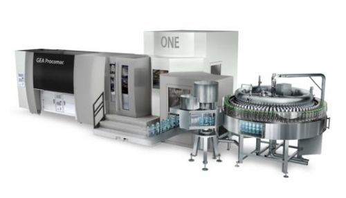 An innovative design for an ever cleaner blowing process, GEA Procomac's ONE bloc concept is the answer for filling still/sparkling water and soft drinks, by incorporatiing bottle blowing and filling, that is not only safe and clean but just as simpl