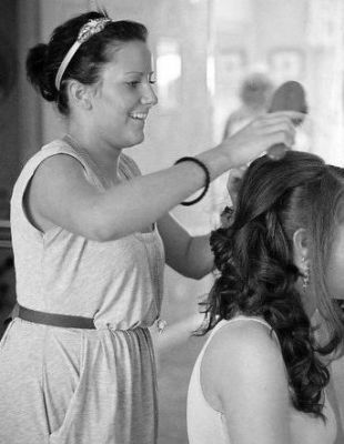 Styling Hair for a Wedding