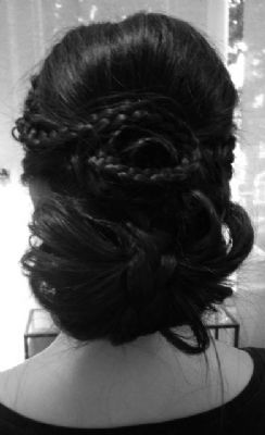 Boho Braided Upstyle