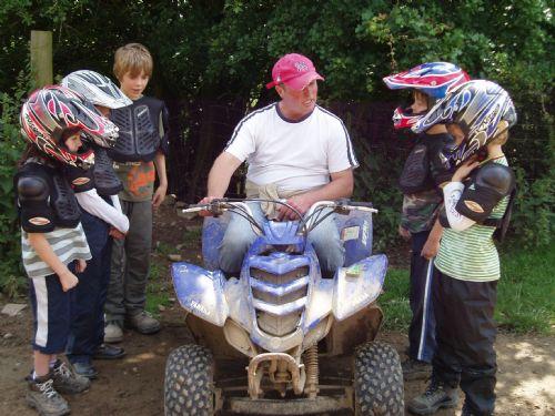 Childrens quad biking party