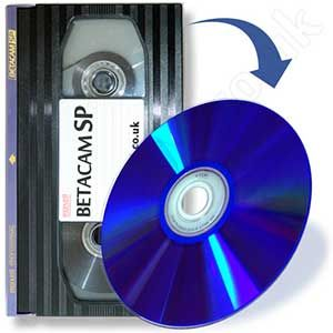 Transfer betacam to dvd.