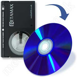 Transfer betamax to dvd.
