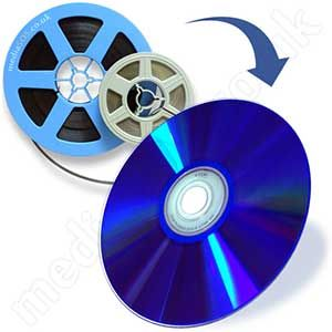 Transfer cine film to dvd.