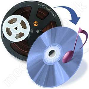 Transfer reel-to-reel to audio cd/mp3.