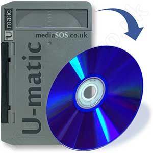 Transfer u-matic to dvd.