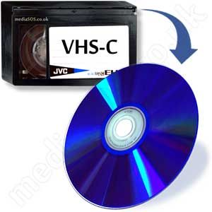 Transfer vhs-c tape to dvd.