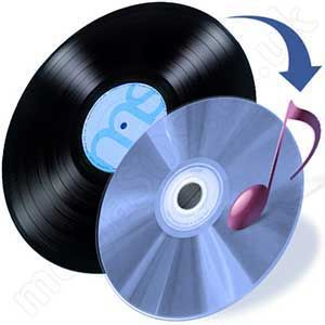 Transfer vinyl lp to audio cd/mp3.