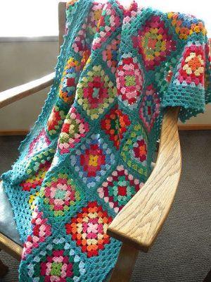 Beginners Crochet - make a granny square