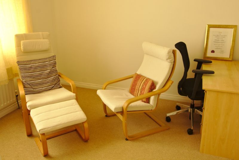 Therapy Room and Office